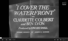 Watch Free Online I Cover The Waterfront 1933