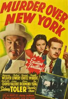 Murder Over New York (1940)